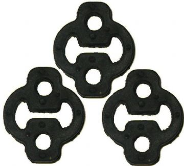 3 X SUZUKI SUPERCARRY 1.0 MK1 1986 TO 1993 EXHAUST RUBBER MOUNT HANGER MOUNTING